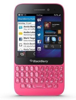 BlackBerry Q5 für 39,90€ (statt 70€)   nur in Pink!