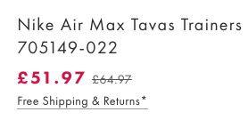 Bildschirmfoto 2016 08 30 um 13.47.00 Nike Air Max Tavas Trainers Herren Sneaker für 60,85€ (statt 80€)