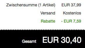 Boss Pullover mit Logo Stickerei für 30,40€ (statt 45€)