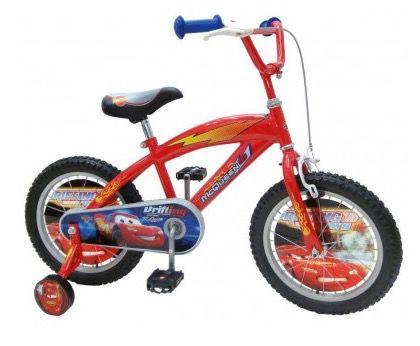 Cars 16 Zoll Kinderfahrrad mit Stützrädern für 92,94€ (statt 115€)