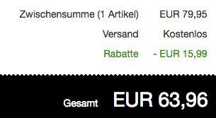 bugatti Herren Halbschuhe aus Echtleder für 63,96€ (statt 80€)