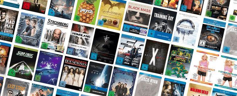 Blu rays ab 4€ bei Saturn + 1,99€ VSK