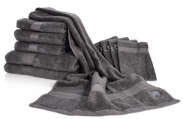 Wieder da! 10er Set Dusch /Handtücher aus 100% Baumwolle für 22,99€
