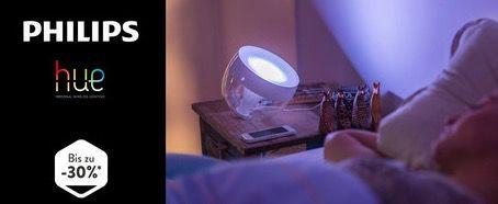 Philips Hue Sale bei brands4friends   z.B. LED Tischleuchte Soundlight für 20€ (statt 25€)