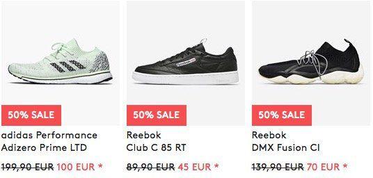 Großer Sneaker & Fashion Sale bei Caliroots + 20% Gutschein   z.B. adidas Adizero Prime LTD für 112€ (statt 135€)