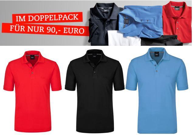 Boss Ferrara   2 Herren Poloshirts ab 70€