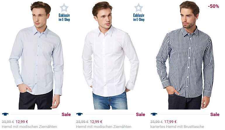 Tom Tailor Late Night Shopping mit 20% Rabatt auf Business Styles