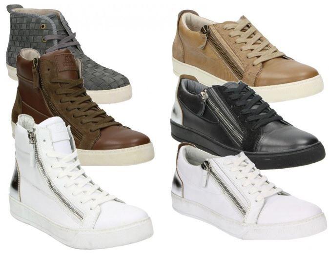 CLUB COUTURE L.A. Herren Leder Sneaker CLUB COUTURE L.A.    Herren Leder Sneaker für 29,95€