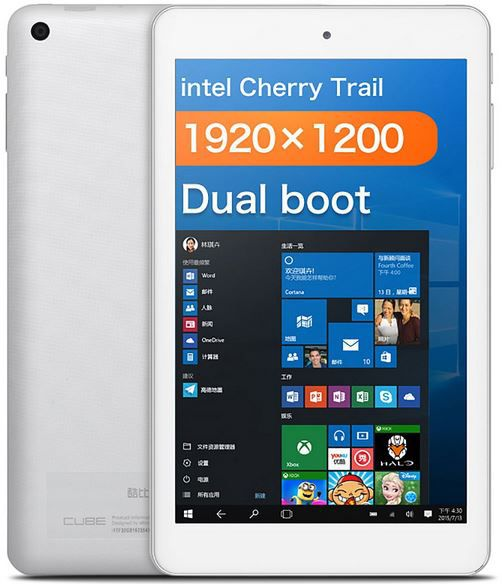CUBE iWork8 Air Android Windows10 Tablet CUBE iWork8 Air   Android 5.1   Windows 10 Tablet für 72€