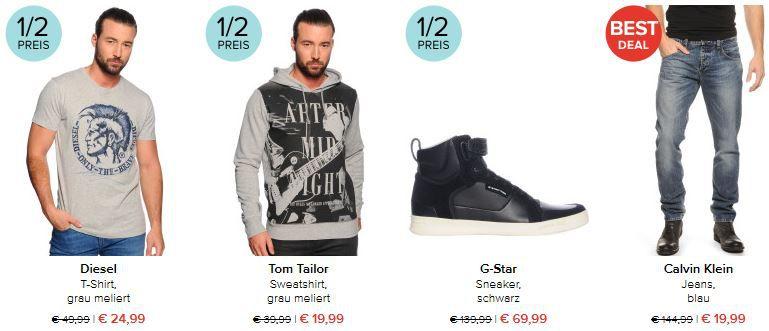 CalvinKlein Jeans dress for less   50% Rabatt auf (fast) alles + 20€ extra Rabatt ab 80€