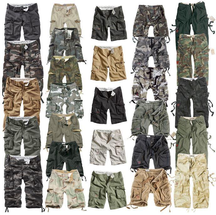 Cargo Shorts # SURPLUS: Trooper, Airborne   Cargo und Bermunda Shorts bis 7XL für je 24,90€