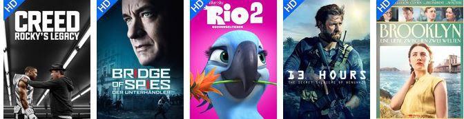 Creed Rocky Wuaki.tv   HD Filme am Dienstag nach Wahl für je 0,99€