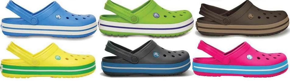 CROCSBAND 11016   Unisex Kult Schuhe für je 24,99€