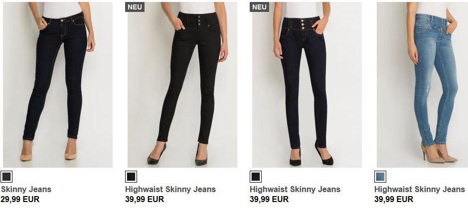 ORSAY mit 10€ Sofort Rabatt auf reguläre Damen Jeans!