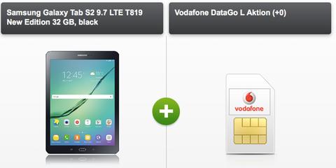 Vodafone Data Go M + Galaxy Tab S2 für 23,37€ mtl.   6GB Datenvolumen mit LTE