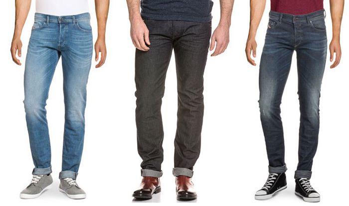 Diesel Sale Diesel Jeans Sale mit bis  50% bei eBay   z.B. Diesel Sleenker Slim Skinny Fit für 80€(statt 100€)