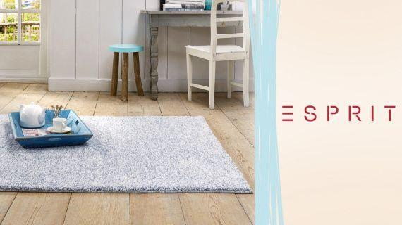 Hot! Esprit Mikrofaser & Langflorteppiche verschiedene Farben und Größen ab 40€ (statt 62€)