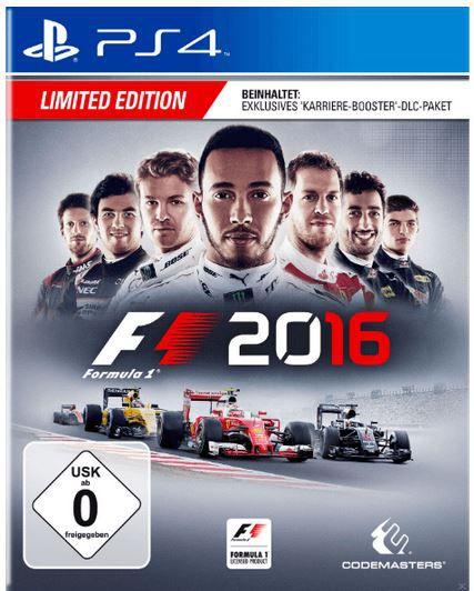 F1 2016 Trustmater Lenkrad T300 RS + Game F1 2016 für PlayStatin 4 für 264,99€