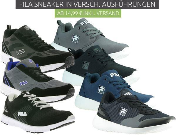 FILA Sale FILA Herren Sneaker Sale   Laufschuhe schon ab 14,99€
