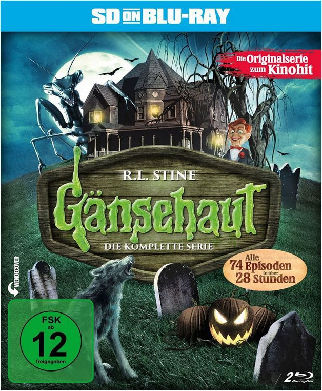 Gänsehaut   Die komplette Serie (SD on Blu ray) ab 16,97€