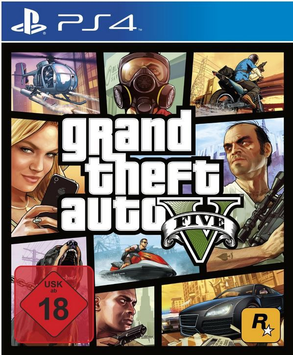 GTA V PS4 Grand Theft Auto V für PlayStation 4 statt 42€ ab 30€
