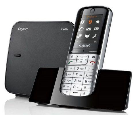 Gigaset SL400A Schnurlos Festnetz Telefon mit AB für 69,99€ (statt 150€)