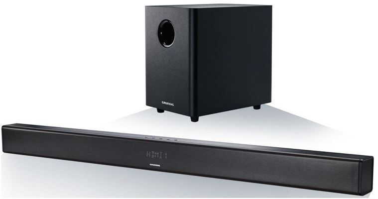 Grundig Bluetooth 2.1 Soundbar Grundig Bluetooth 2.1 Soundbar + drahtlos Subwoofer für 99,90€