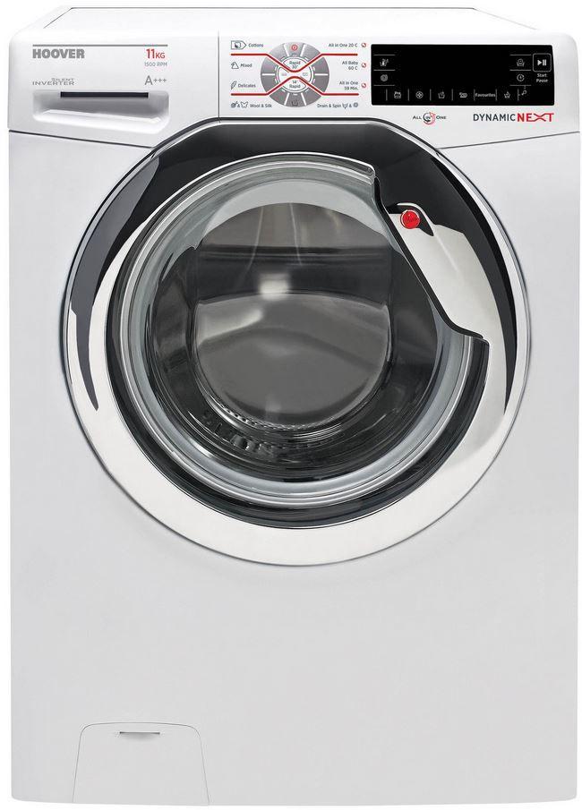 HOOVER DXT 511 AH S Waschmaschine HOOVER DXT 511 AH S   Waschmaschine 11 kg, 1500 U/Min. für 389,90€ (statt 430€)