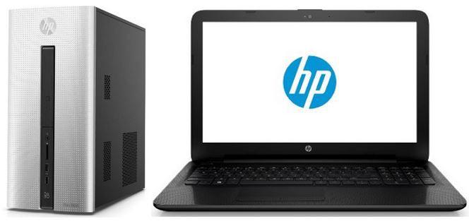 HP Pavilion i5 PC 8GB RAM für 529€ oder HP 15 ac127ng   15,6 Notebook für 279€ nur Heute