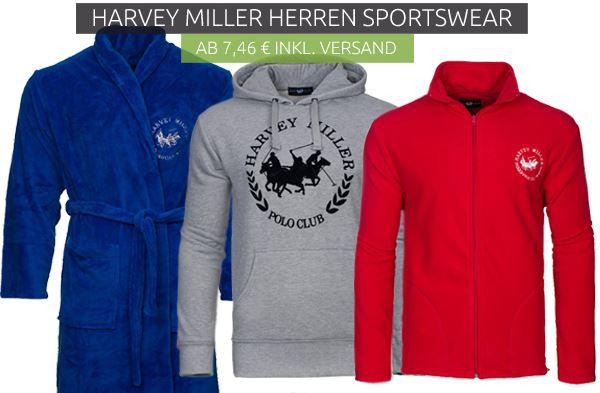 Harvey Miller Polo Club Sale   Herren Sportswear ab 7,76€