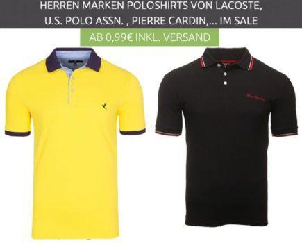 Marken Poloshirts für Damen und Herren ab 0,99€   adidas Performance Essential Polo für 17,99€