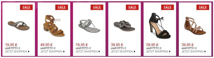 High Heels Sale Roland Schuhe mit 30% Extra Rabatt auf offene Sommerschuhe