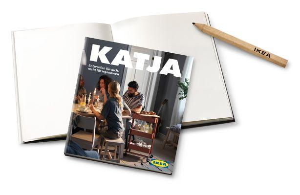 Persönliches Notizbuch gratis   für Ikea Family Newsletterempfänger