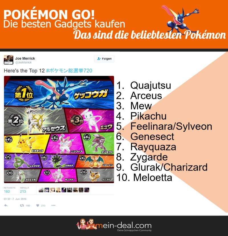 Infografik Pokemon Pokémon Go   Die besten Gadgets kaufen