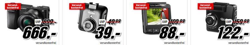 Kameras günstig ROLLEI Sportsline 85 Cam für 44€ und mehr beim Media Markt Foto Deal