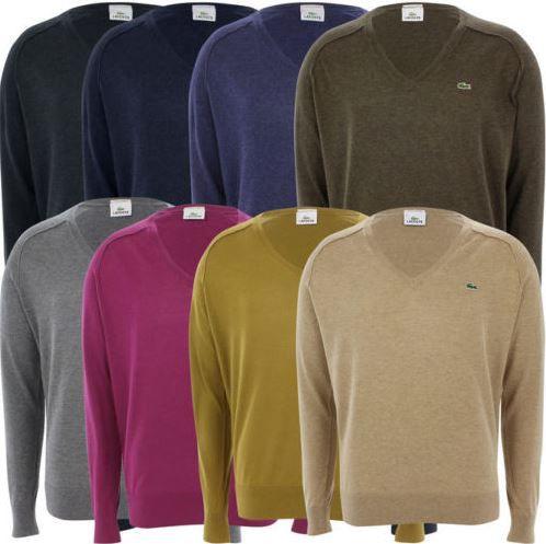 Lacoste Sale1 Lacoste Pullover mit Kaschmiranteil in verschiedenen Farben für je 49,99€