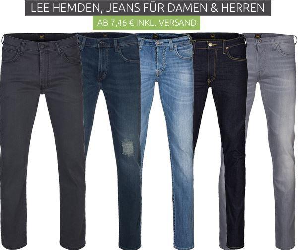 Lee Sale Lee Sale bei Outlet46   z.B. Jeans ab 7,46€ oder Hemden ab 10€