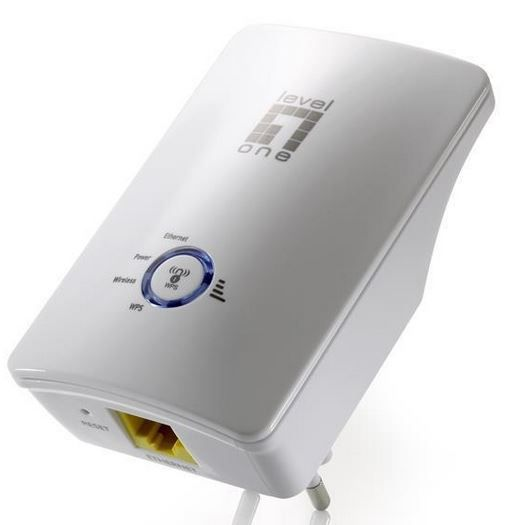LevelOne WRE 6001C   Wireless Range Extender für 17,99€