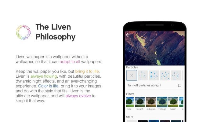 Liven Wallpaper Live (Android) gratis