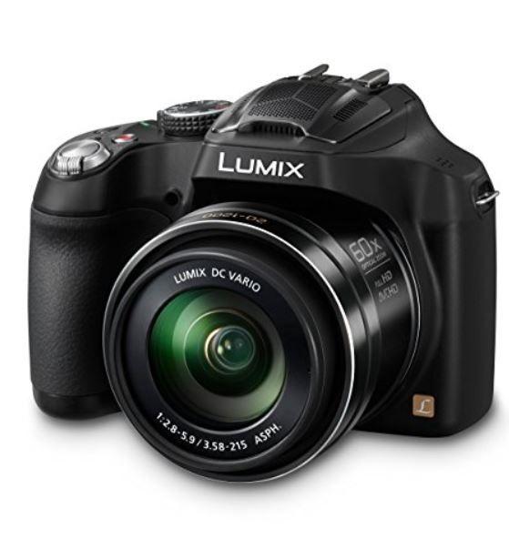 Panasonic Lumix DMC FZ72   Bridgekamera mit 60fach Superzoom für 229,99€