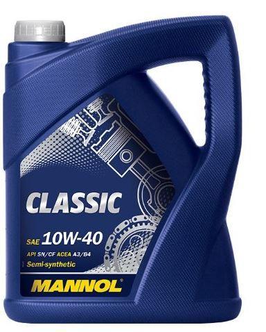 MANNOL Classic Motoröl 10W 40   5 Liter für 11,95€ (statt 16€)