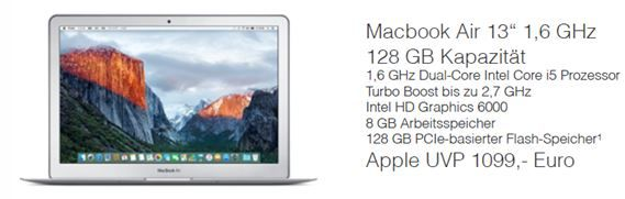 Mac Book Edu Rabatt Mactrade mit EDU Sofortrabatten für Macs (MacBook, MacBook Air, MacBook Pro, iMac, Mac Mini)   Hot