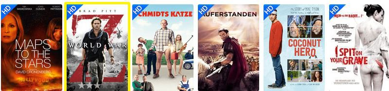 Maps to the Stars Wuaki.tv   HD Filme am Dienstag nach Wahl für je 0,99€