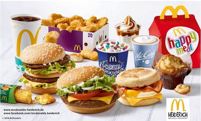 McDonalds Paderborn Gutscheine: 10€ für 7€ oder 15€ für 10€