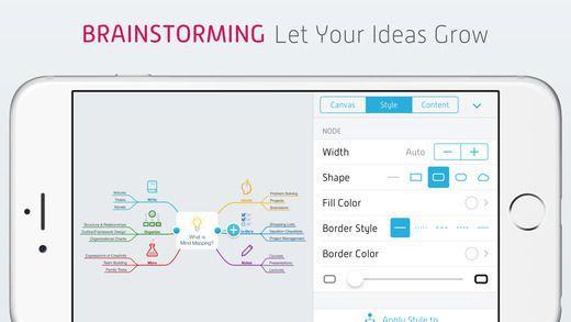 Mindnote MindNode   Delightful Mind Mapping (iOS) kostenlos statt 9,99€