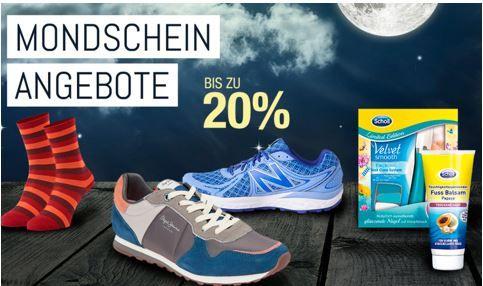 Mondschein Sale Bis 20% auf Alles rund um Ihre Füße heute in den Galeria Kaufhof Mondschein Angeboten