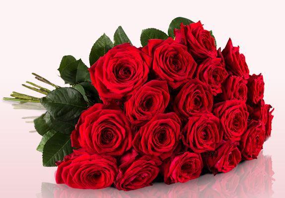 Miflora Blumenstrauß   20 Red Naomi Rosen für 18,90€