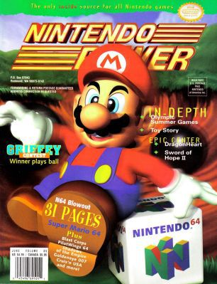 Nintendo Power Nintendo Power (1988 2001) gratis bei Archive.org