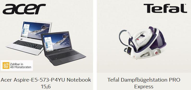 Tefal Dampfbügelstation statt 185€ ab 149€ oder Acer 15,6 Notebook ab 349,99€