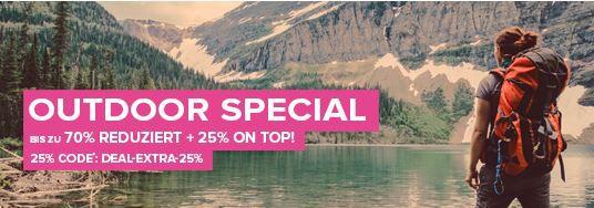 Outdoor Sale Vao la VAOLA   Outdoor Special mit 70% Rabatt + 25% Sofort Rabatt   z.B Osprey Farpoint 40 Rucksack statt 111€ für 81€